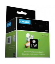 "Dymo LabelWriter 1-1/4"" x 2-1/4"" Address Labels, White, 1000/Pack"