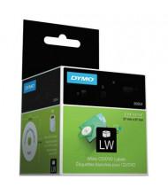 "Dymo LabelWriter 30854 2-1/4"" CD DVD Labels, White, 160/Pack"