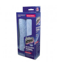 "Endust for Electronics 15"" x 15"" Extra-Large Microfiber Towels, 2/Pack"