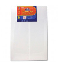 "Elmer's Guide-Line 48"" x 36"" 6-Pack White Foam Display Board"