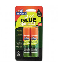 Elmer's .21 oz Naturals School Glue Sticks, 2/Pack