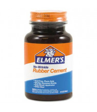 Elmer's 4 oz Repositionable Rubber Cement Bottle