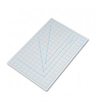"X-Acto X7761 12"" x 18"" PVC Self-Healing Cutting Mat, Grey"