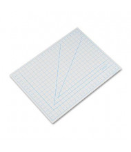 "X-Acto X7762 18"" x 24"" PVC Self-Heaing Cutting Mat, Grey"