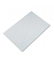 "X-Acto X7763 24"" x 36"" PVC Self-Healing Cutting Mat, Grey"