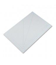 "X-Acto X7763 24"" x 36"" PVC Self-Healing Cutting Mat, Grey"