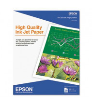 """Epson 8-1/2"""" X 11"""", 4.7 mil, 100-Sheets, High Quality Inkjet Paper"""