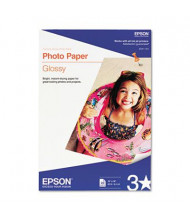 "Epson 13"" X 19"", 60lb, 20-Sheets, Glossy Photo Paper"
