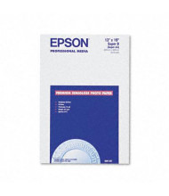 "Epson 13"" X 19"", 68lb, 20-Sheets, Semi-Gloss Photo Paper"