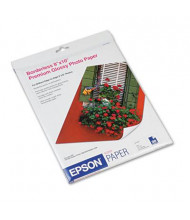 "Epson 8"" X 10"", 68lb, 20-Sheets, High-Gloss Photo Paper"