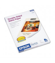 "Epson Premium 8-1/2"" X 11"", 45lb, 50-Sheets, Double-Sided Matte Presentation Paper"