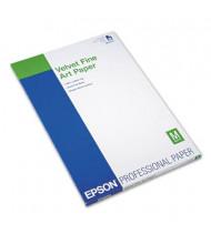 """Epson 13"""" X 19"""", 20-Sheets, Velvet Fine Art Paper"""