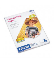 "Epson 8-1/2"" X 11"", 52lb, 50-Sheets, Glossy Photo Paper"
