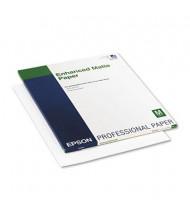 "Epson Ultra Premium 17"" X 22"", 10 mil, 50-Sheets, Matte Presentation Paper"