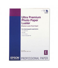 "Epson Ultra Premium 17"" X 22"", 10 mil, 25-Sheets, Luster Photo Paper"