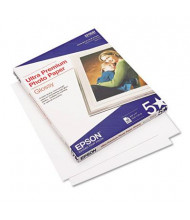 "Epson Ultra Premium 8-1/2"" X 11"", 79lb, 50-Sheets, Glossy Photo Paper"
