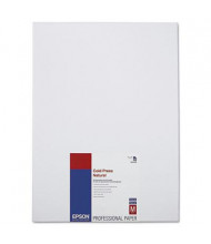 "Epson 13"" x 19"", 21 mil, 25-Sheets, Cold Press Natural Fine Art Paper"