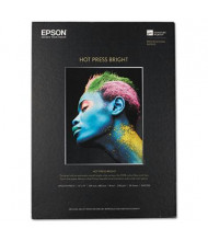 "Epson 13"" x 19"", 17 mil, 25-Sheets, Hot Press Bright Fine Art Paper"