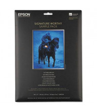"""Epson Signature Worthy Paper 8-1/2"""" X 11"""", 14-Sheets, Sample Pack"""
