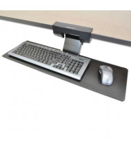 "Ergotron Neo-Flex 10-3/4"" Track Under-Desk Keyboard Arm, Black"