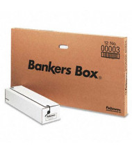 "Bankers Box 6"" x 23-1/4"" x 4-1/4"" Card Liberty Storage Boxes, 12/Carton"