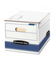 "Bankers Box 12"" x 15"" x 10"" Letter & Legal Stor/File Storage Boxes, 12/Carton"