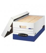 "Bankers Box 12"" x 24"" x 10"" Letter Presto Maximum Strength Storage Boxes, 12/Carton"
