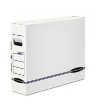 "Bankers Box 5"" x 14-7/8"" x 18-3/4"" X-Ray Storage Boxes, 6/Carton"