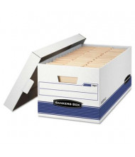 "Bankers Box 12"" x 24"" x 10"" Letter Stor/File Storage Boxes, 4/Carton"