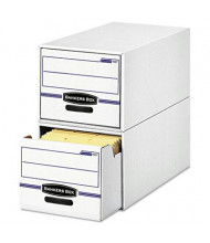"Bankers Box 12"" x 24"" x 10"" Letter Stor/Drawer File Storage Box, 6/Carton"