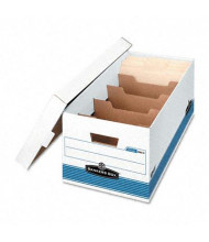 "Bankers Box 12"" x 24"" x 10"" Letter Stor/File Extra Storage Boxes, 12/Carton"