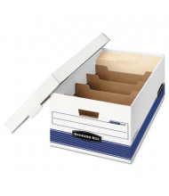 "Bankers Box 15"" x 24"" x 10"" Legal Stor/File Extra Strength Storage Boxes, 12/Carton"