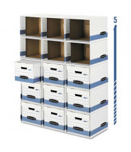 Bankers Box Legal & Letter File Cube Box Shell, 6/Carton