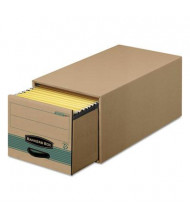 "Bankers Box 15-1/2"" x 23-1/4"" x 10-3/8"" Legal Storage Drawers, 6/Carton, Kraft"