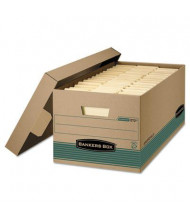 "Bankers Box 15"" x 24"" x 10"" Legal Stor/File Storage Boxes, 12/Carton"