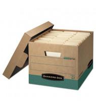 """Bankers Box 12"""" x 15"""" x 10"""" Letter & Legal R-Kive Storage Boxes, 12/Carton"""