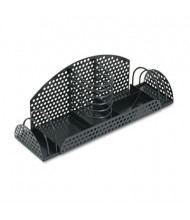 Fellowes Perf-Ect Multi Desk Organizer, Metal/Wire, Black