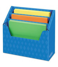 Bankers Box Folder Holder with Compartment Organizer, Blue