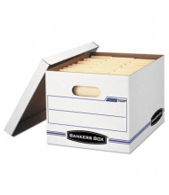 "Bankers Box 12"" x 24"" x 10"" Letter & Legal Stor/File Lift-Off Lid Storage Boxes, 6/Carton"