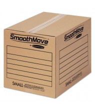 "Bankers Box SmoothMove 16"" x 12"" x 12"" Basic Moving Boxes, 20-Boxes"