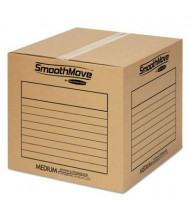 "Bankers Box SmoothMove 18"" x 18"" x 16"" Basic Moving Boxes, 20-Boxes"