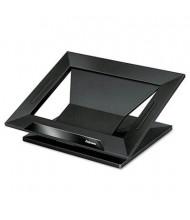 """Fellowes Designer Suites 4"""" H Laptop Riser, Black"""