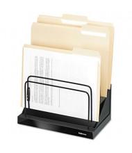 Fellowes 6-Section Designer Suites Step File Sorter, Black