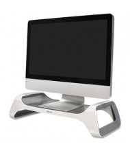 "Fellowes 4-7/8"" H I-Spire Monitor Riser, White/Gray"
