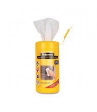 Fellowes Alcohol-Free Screen Cleaning Wet Wipes Can, 100 Wipes