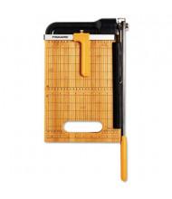 """Fiskars 12"""" Cut Bypass Bamboo Base Guillotine Paper Trimmer"""