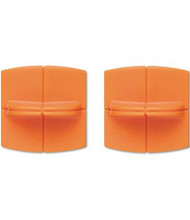 """Fiskars Replacement Blade Carriage for 12"""" Portable Paper Trimmer, 2-Pack"""