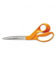 "Fiskars Home and Office Scissors, 9"" Length, Orange"