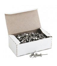"GEM 5/8"" Head Aluminum Push Pins, 100/Box"
