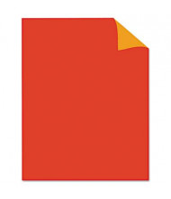 """Royal Brites 28"""" x 22"""" 25-Pack Two-Color Red/Orange Poster Boards"""